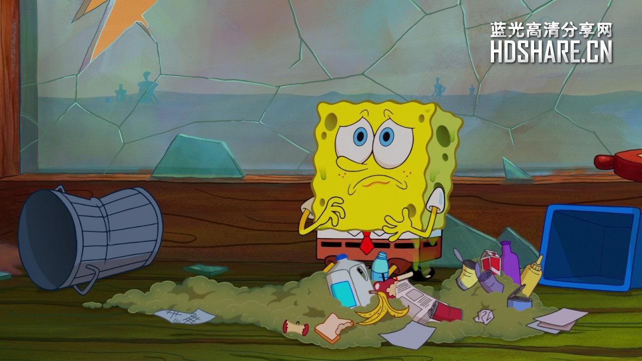 海绵宝宝 - the spongebob movie: sponge out of water